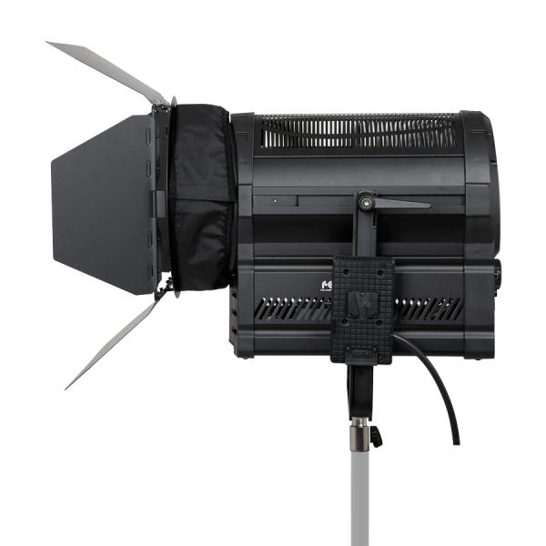 Luci LED Fresnel DMX V-mount colore variabile