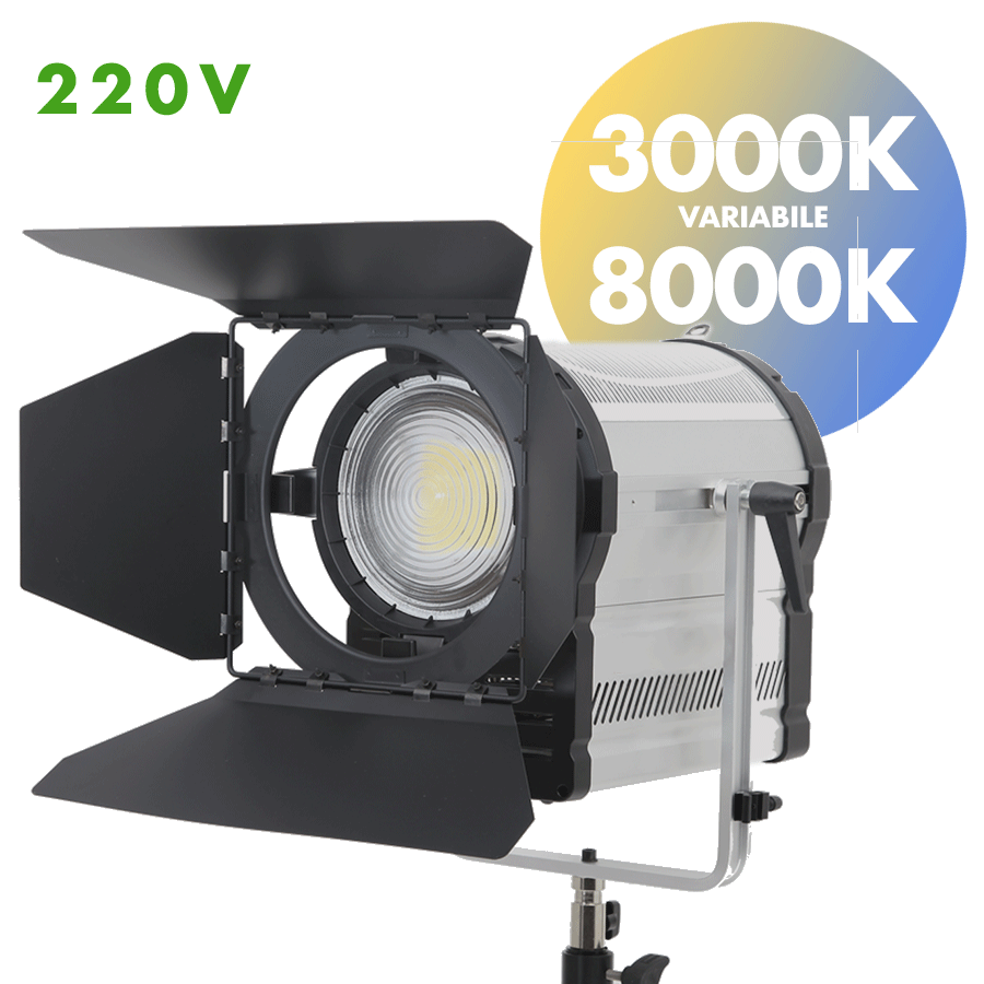 Faro LED fresnel 160W 220V