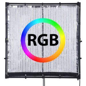 Pannello Led Rgb Flessibile 121x121cm